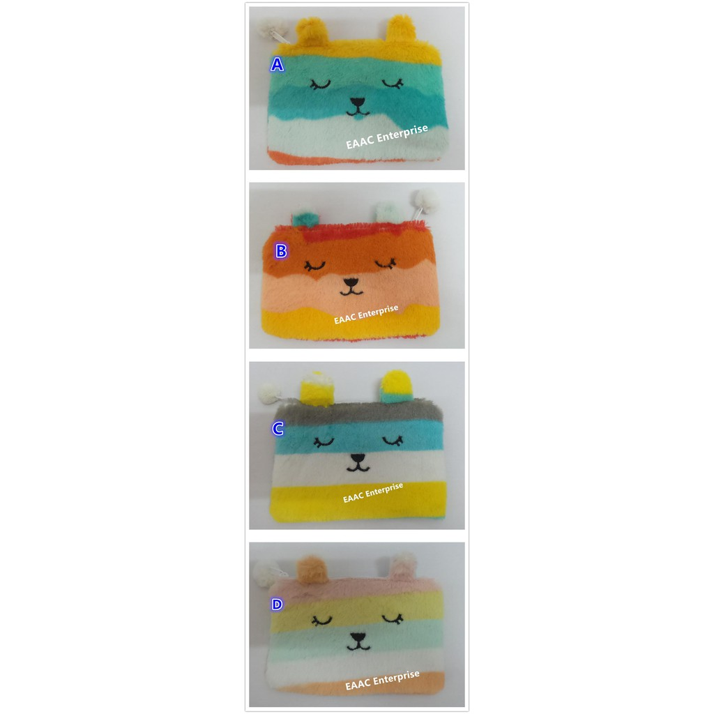 Craftholic Rab Bunny Plush Pouch Pencil Box Case Make Up Pouch Purse Pouch