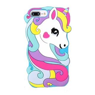 the best attitude 32034 cd5d8 🔥3D UNICORN🔥3D Unicorn IPhone Case X 6 6s 7 8 Plus 5 5s 3D Cartoon