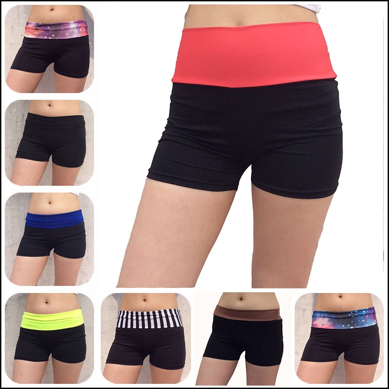 order offer discounts outlet boutique Fashion Women's Sport Shorts Fitness Sports Black Yoga Shorts ...
