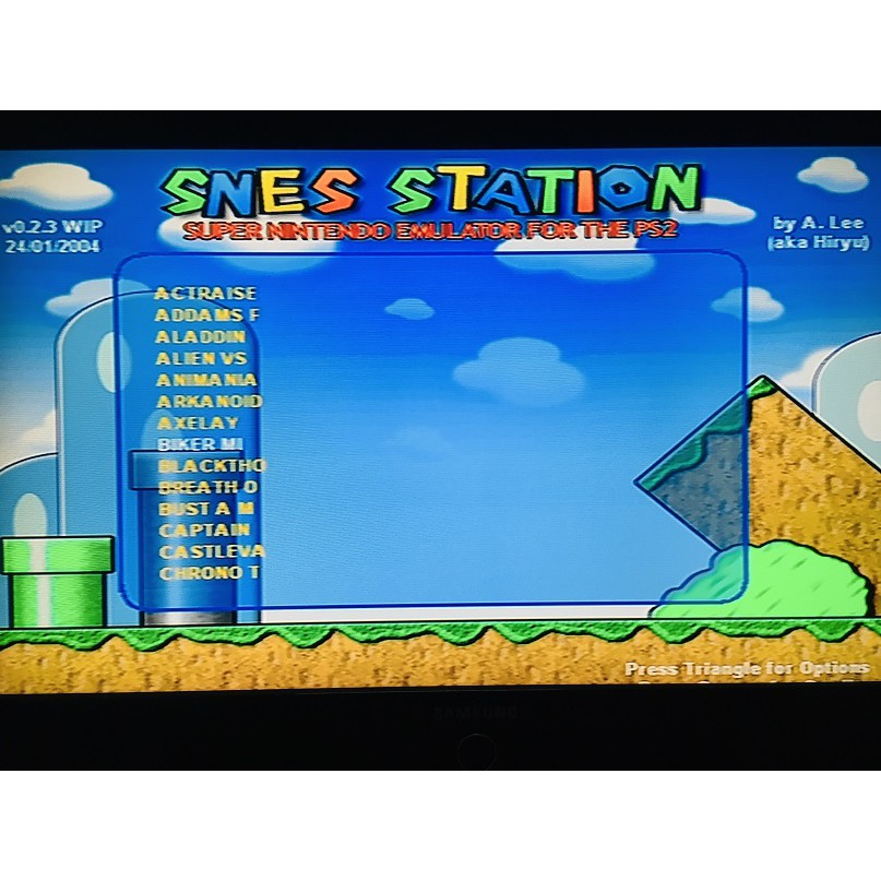 PS2 Game SNES Station 700 in 1 Game, Multi 700 in 1 Game, English version, Action Game / PlayStation 2