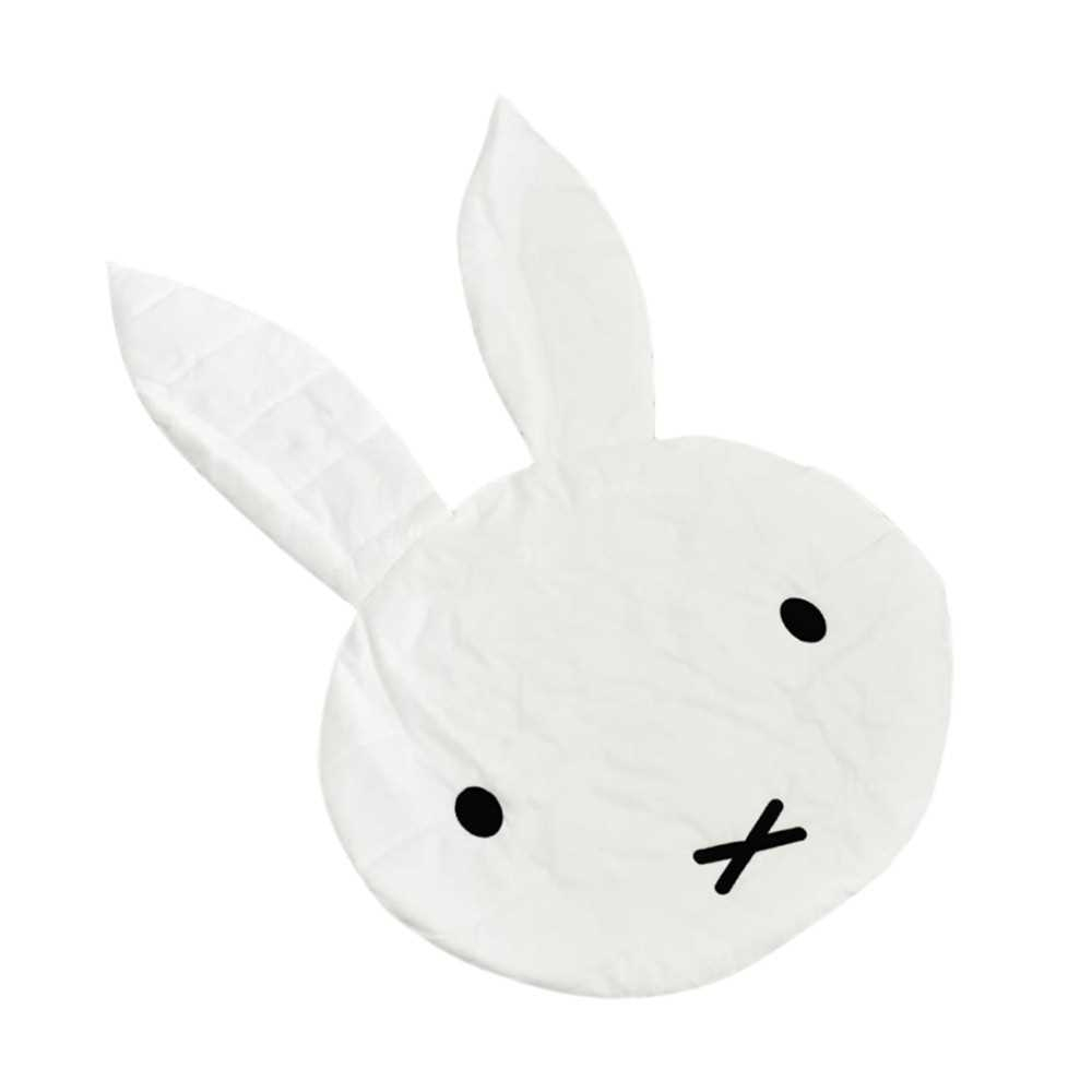 Cute Rabbit Children Crawling Mat Baby Toy Floor Mat Game Carpets for Kids Room Decoration Baby Gift (Standard)