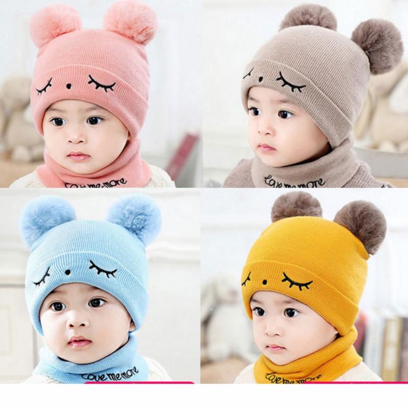138a90af4 Cute Baby Boy/Girl Winter Knit Kids Hat