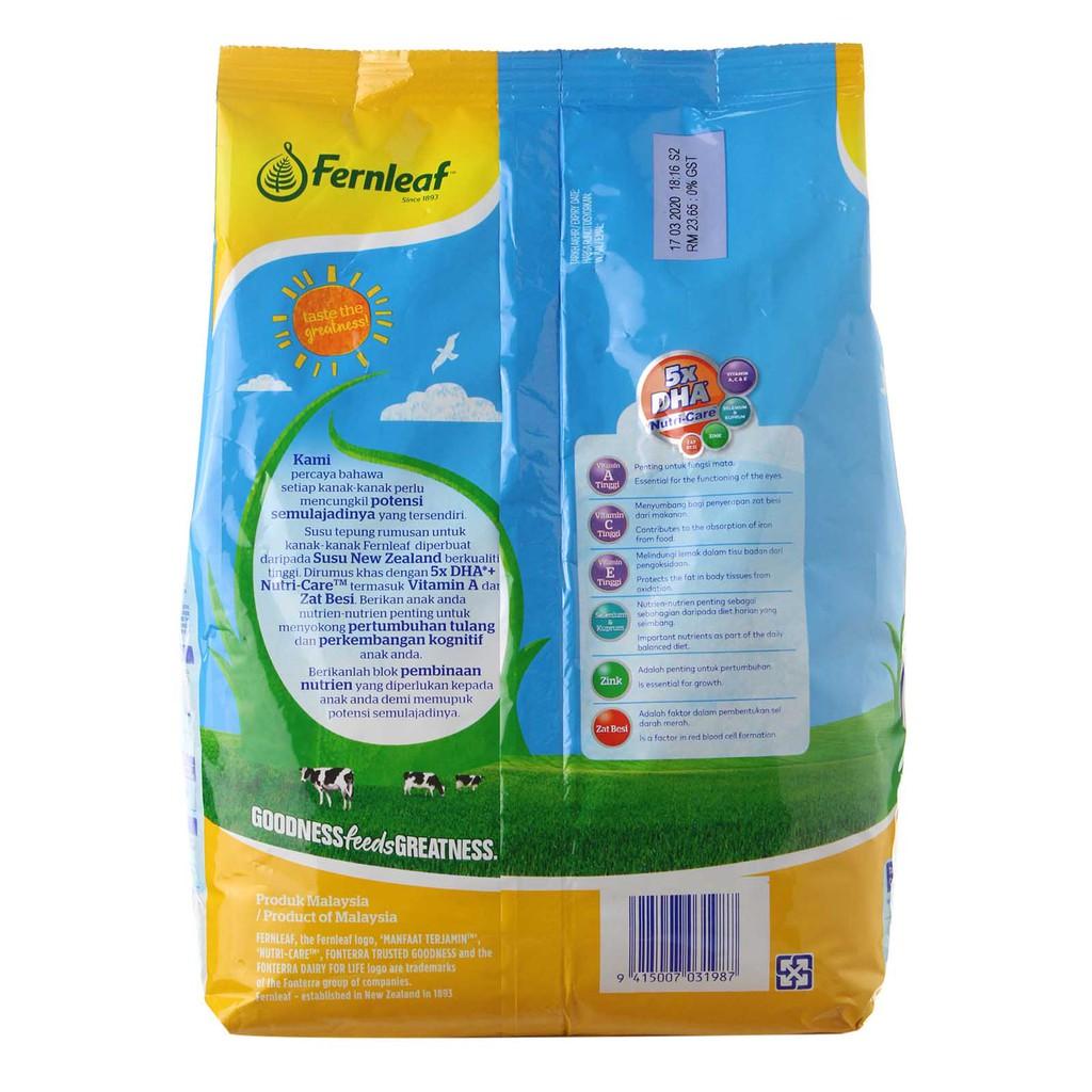 Fernleaf Milk 1-3 Honey (900g)