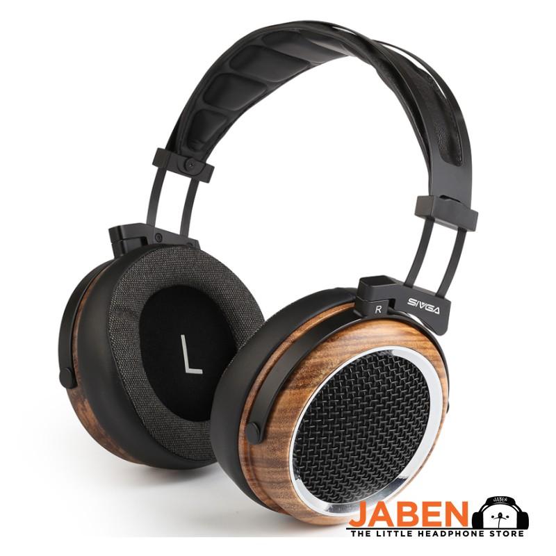 SIVGA Phoenix 50mm Dynamic Driver Detachable Cable Open Back Over Ear Headphones [Jaben]