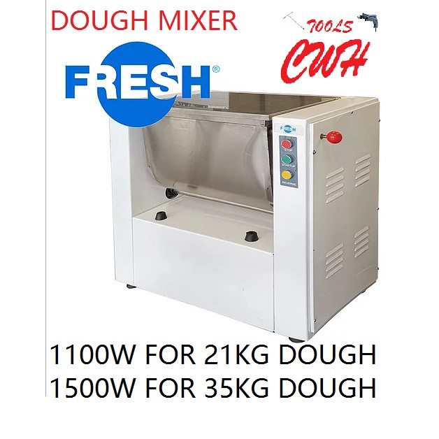 1100W 1500W 15KG 25KG FRESH DOUGH FLOUR MIXER