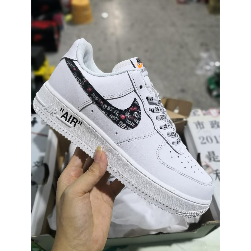 air force 1 noir promo