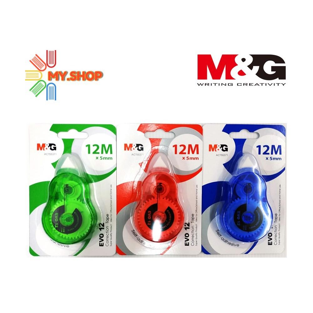 M&G Correction Tape EVO 12M x 5MM ACT55371