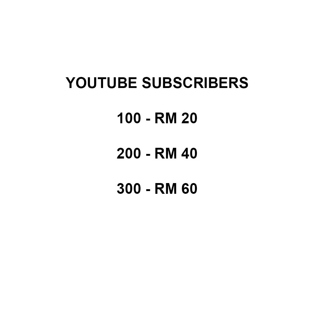 Youtube Subscribers Best In Town