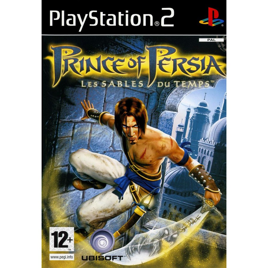 PS2  Prince of Persia : The Sands Of Time / The Two Thrones / Warrior Within [Burning Disk]