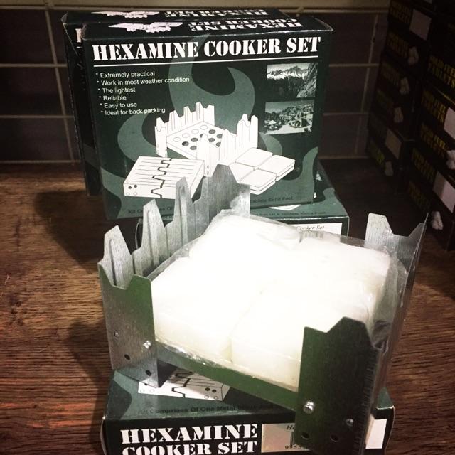 Freelife Hexamine cooker set