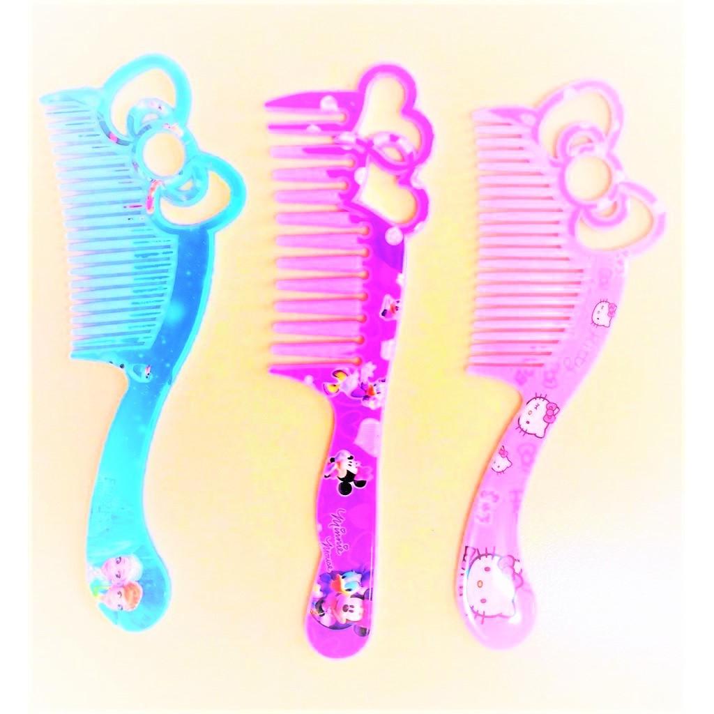 Cartoon Comb Art Kids Comb Hair Brush Hello Kitty Mickey Frozen  Comb Girls' Cartoon Lovely Comb