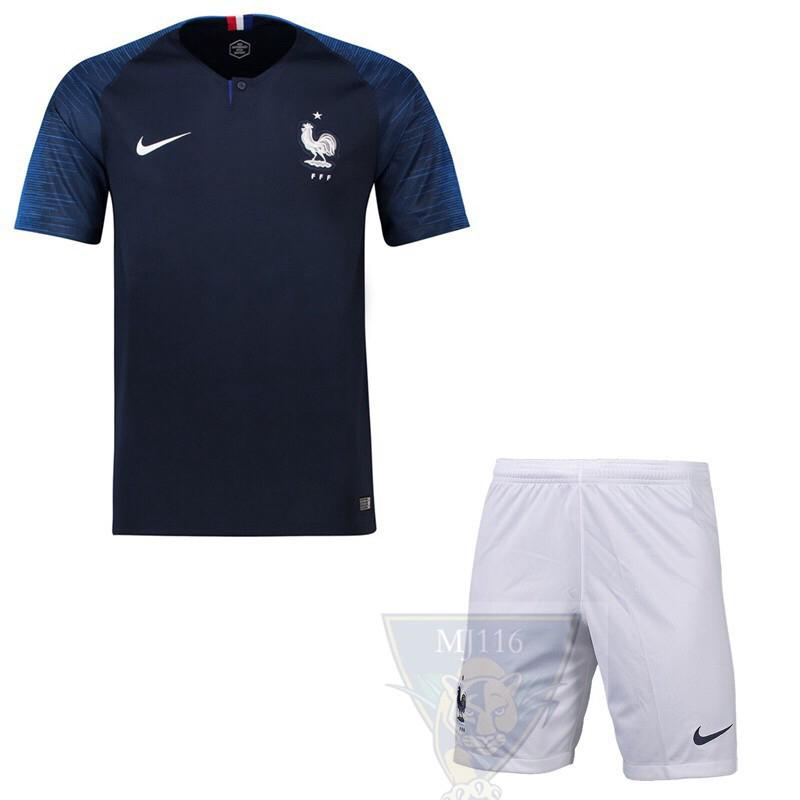 huge selection of 3f226 376f2 Cup France home National Team Jersey 2018 World | Shopee ...