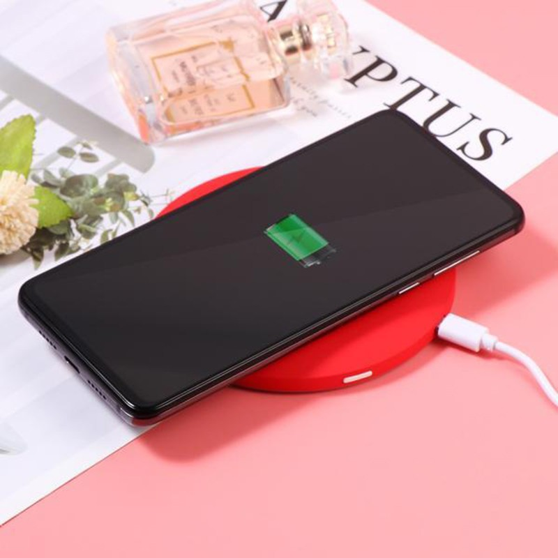 [READY STOK] Multifunctional Portable Wireless Charging LED Makeup Mirror