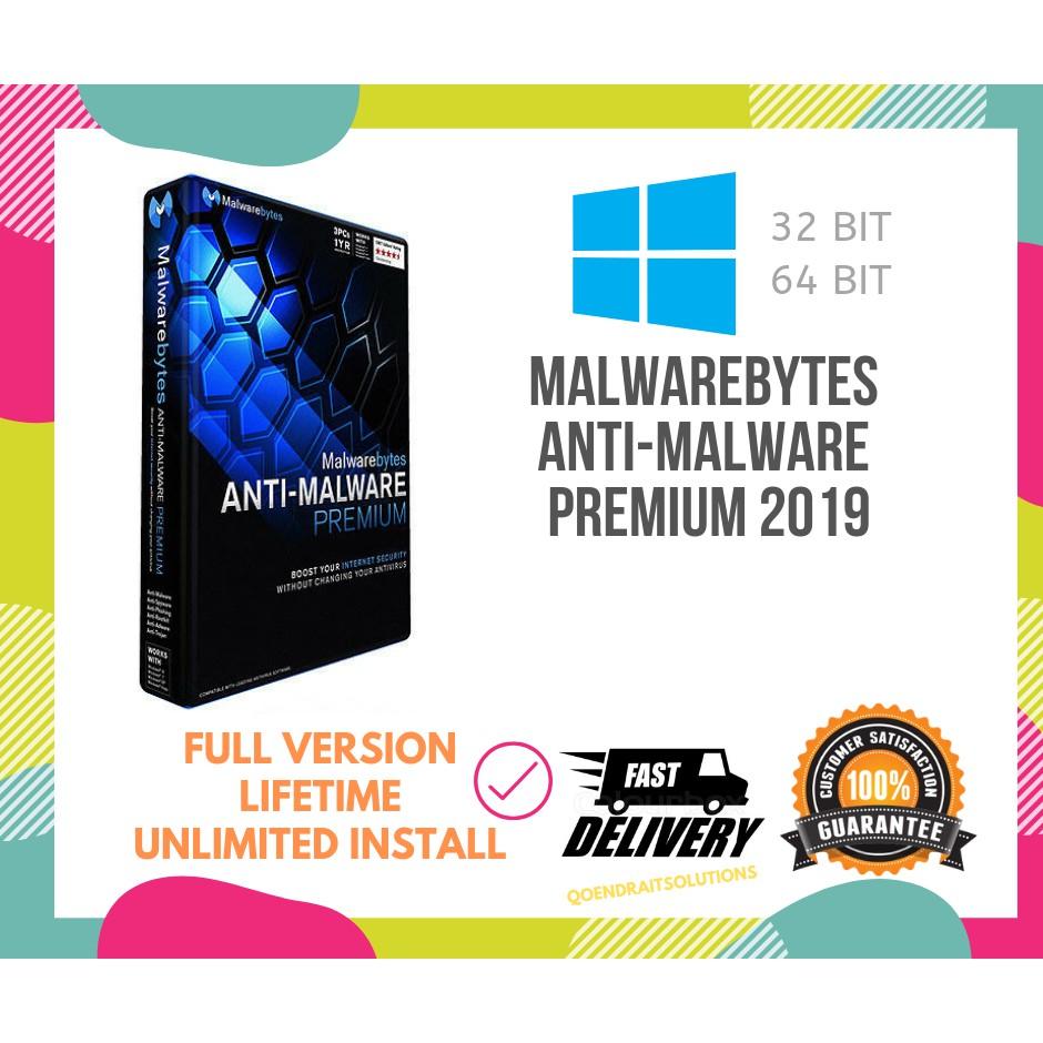 🔥HOT🔥 Malwarebytes Anti-Malware Premium 2019