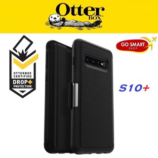 timeless design b76c6 46ac8 Otterbox Symmetry Series Leather STRADA for Galaxy S10+ Black 1 Year ...