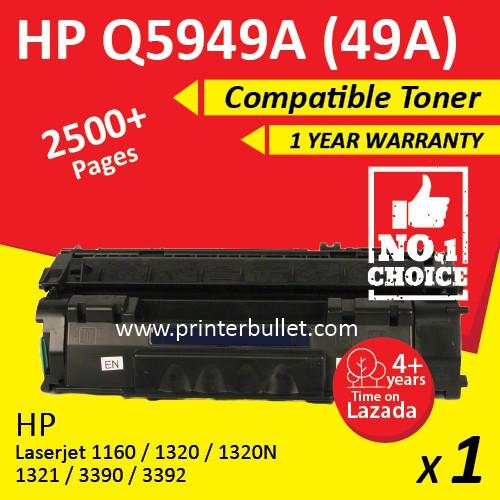 HP Q5949A /49A / 5949 Compatible Toner Cartridge For HP LaserJet 1160 / 1320