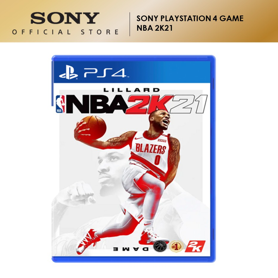 Sony PlayStation 4 PS4 Game NBA 2K21