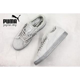 0d7294884b Original PUMA 50Th Men grey walking sneakers women casual fashion ...