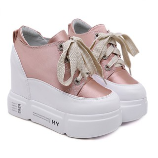 d8f8e70fbe9 special white shoes female new platform heel | Shopee Malaysia