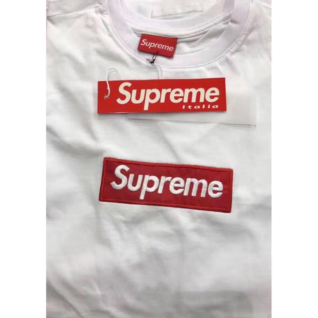 SUPREME box Logo Premium Grade T-Shirt (WHITE Colour)