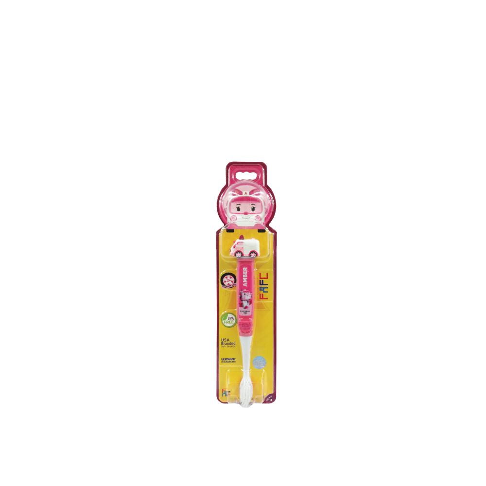 FAFC Figurine Toothbrush-Amber