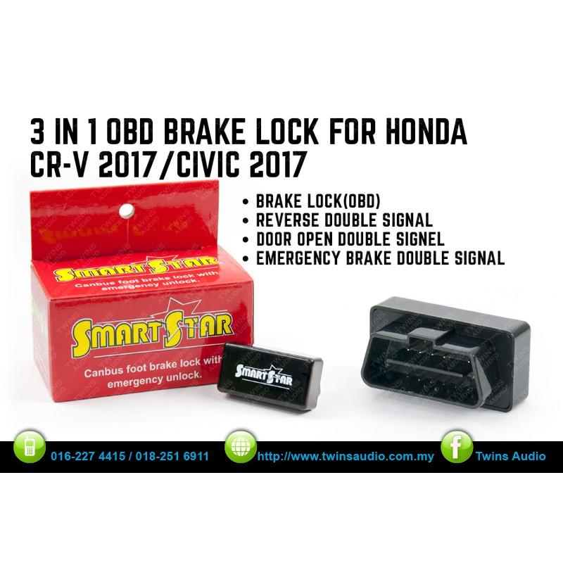SMARTSTAR HONDA CIVIC/CRV 17Y 3 IN 1 OBD BRAKE LOCK   Shopee Malaysia