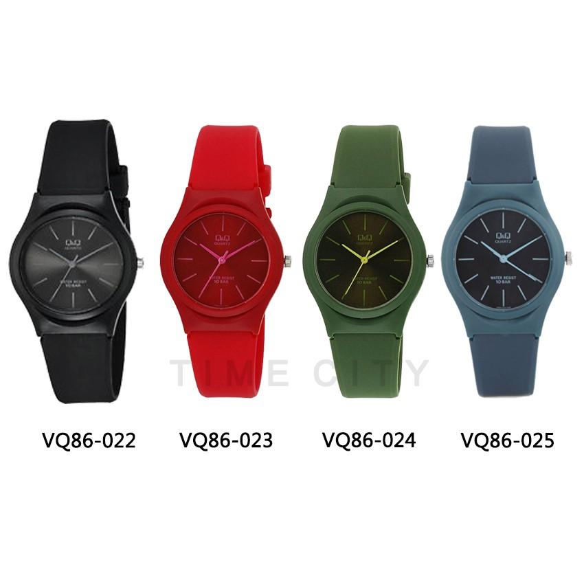 Q Q Qnq Qq Original Vq86j Series Unisex Watches Black Rubber Water Proof Qq Ori Shopee Malaysia