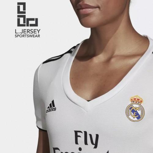 Real Madrid Women Home Season 18/19 CLIMALITE Fans Jersey