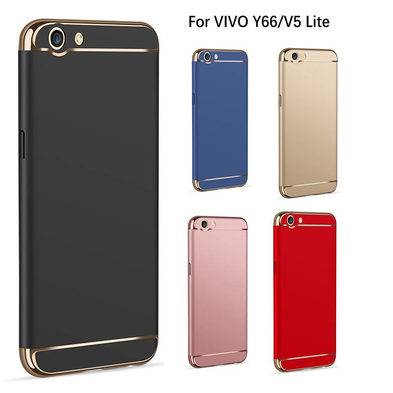 VIVO V5 Lite/Y66 Protective Case 3 IN 1 Hard Back Cover