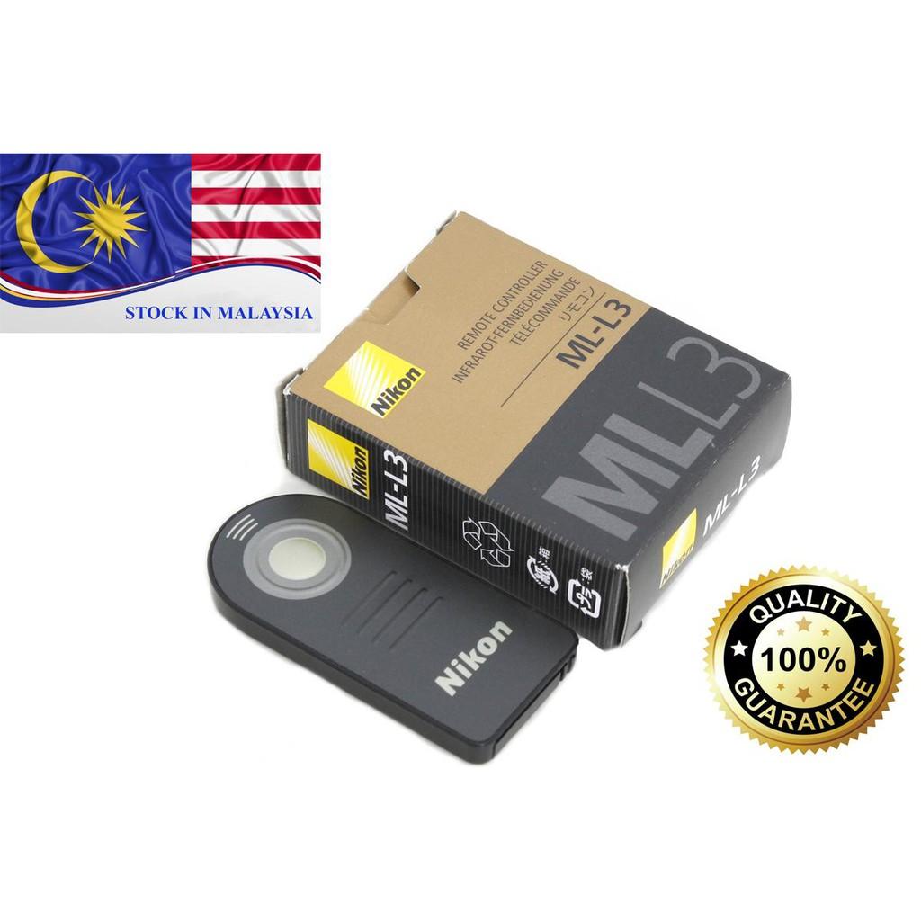 Infrared remote control Nikon ML-L3 (Ready Stock In Malaysia)