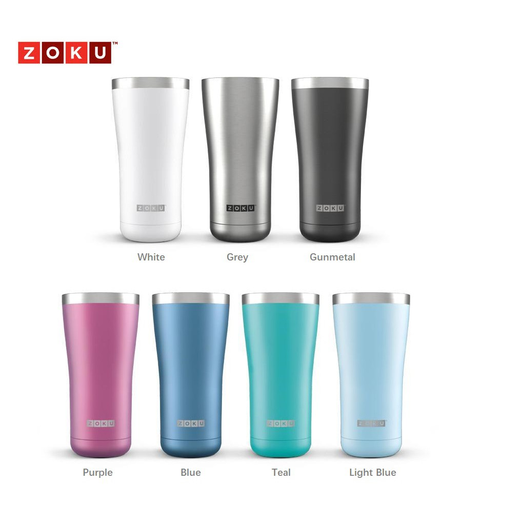 a2a4a48a175 Zoku Stainless Steel Wide Mouth Tumbler (590ml)