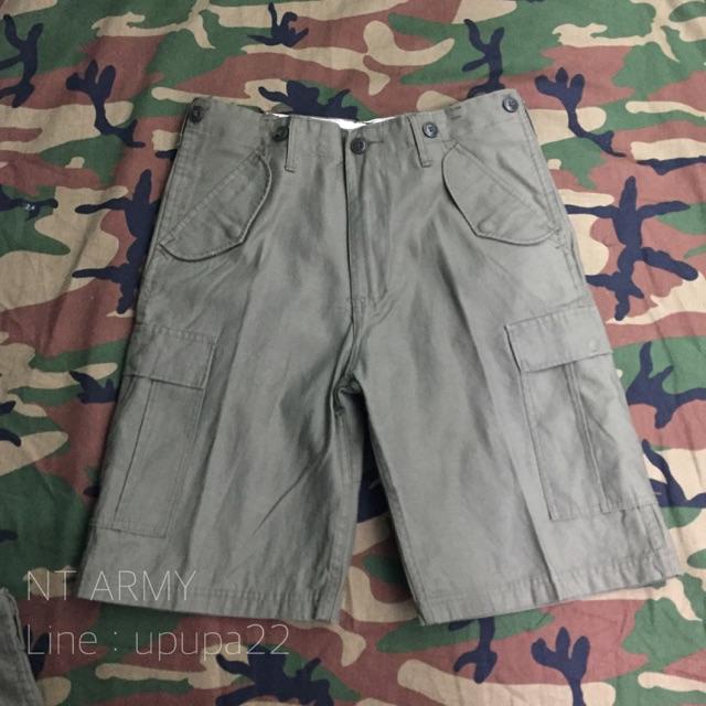 กางเกงทหารขาสั้น รุ่น