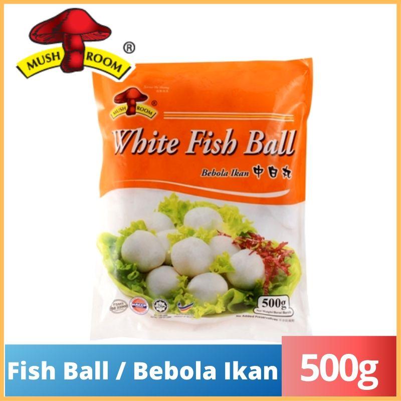 Mushroom Fish Ball / Berbola Ikan (M) (500g)