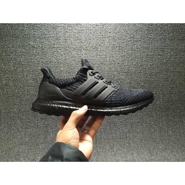 new style 4b011 a4c29 Adidas Ultraboost 3.0 triple black  Shopee Malaysia