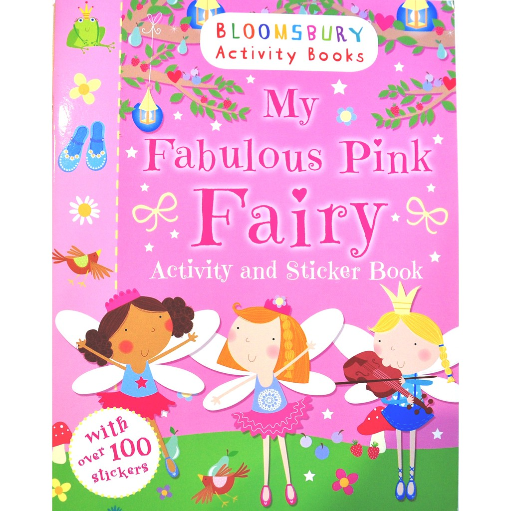 0 3 Years Old Sticker Book Activity 8 Set Shopee Malaysia Books My Pretty Pink