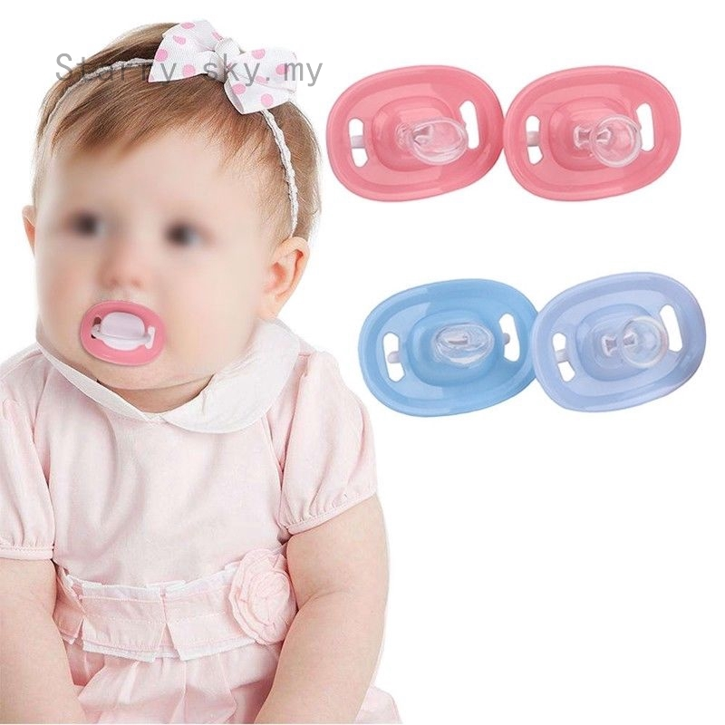 Newborn Baby Kids Silicone Orthodontic Dummy Pacifier Infant Teat Nipple Soother