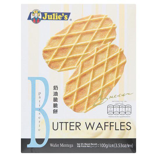 Julie's Butter Waffles 100g