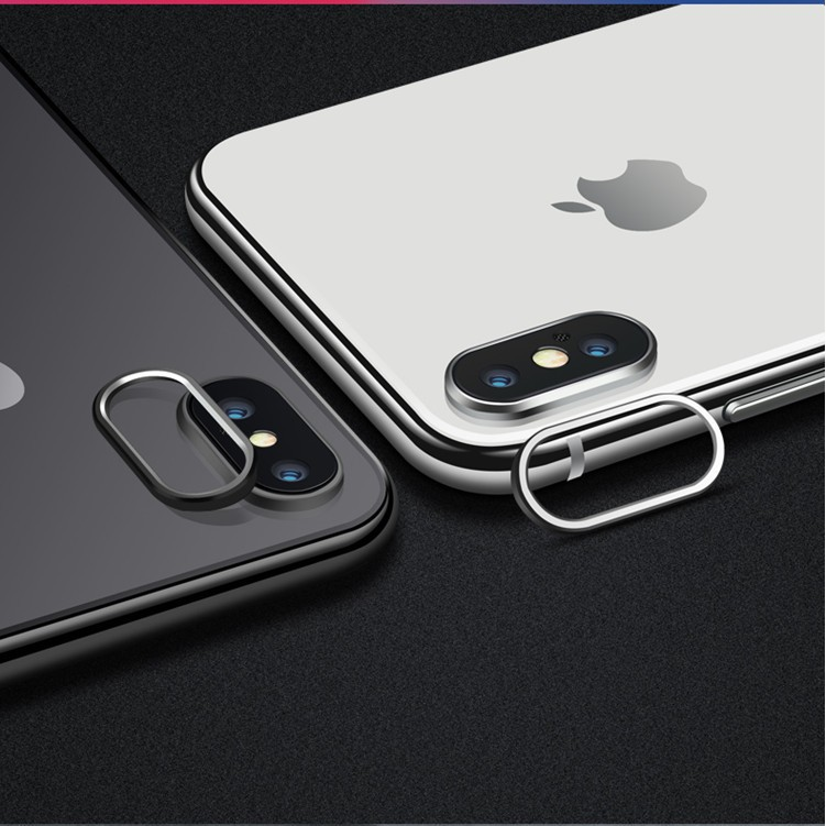 on sale 1ca99 0fc30 Apple Iphone X XS MAX XR 7 8 Plus Back Camera Protector Protection Ring