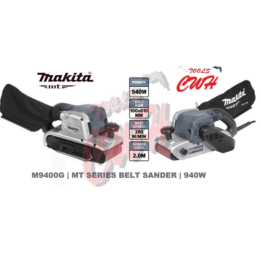 M9400G MAKITA BELT SANDER 940W SANDING SANDPAPER