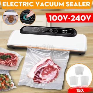 AUGIENB 220V Food Sealer Machine Wet/&Dry Vacuum Storage Packaging Moist Roll