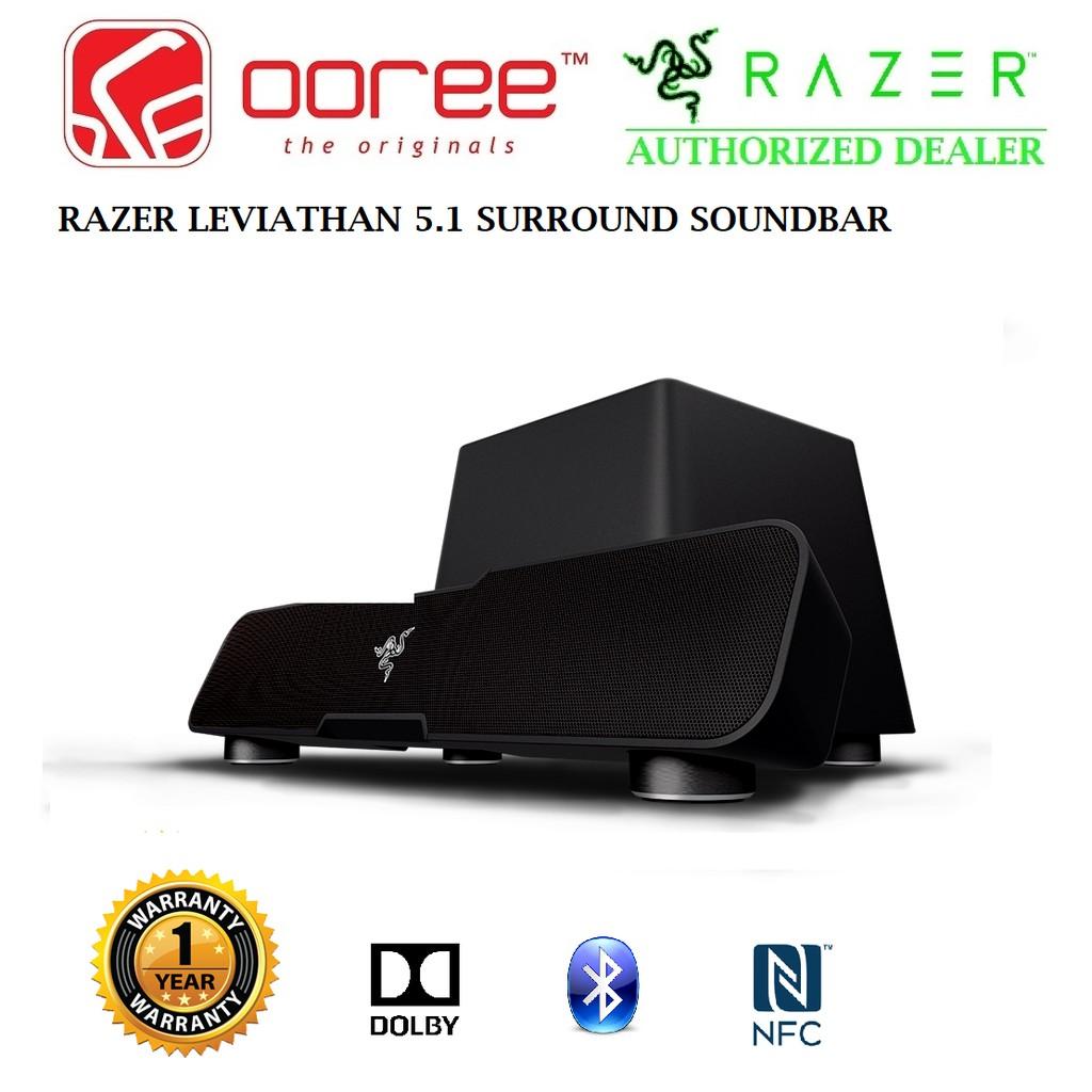 Razer Leviathan 51 Dolby Surround Gaming Soundbar Rz05 01260100 Wireless Speaker R3a1 Shopee Malaysia