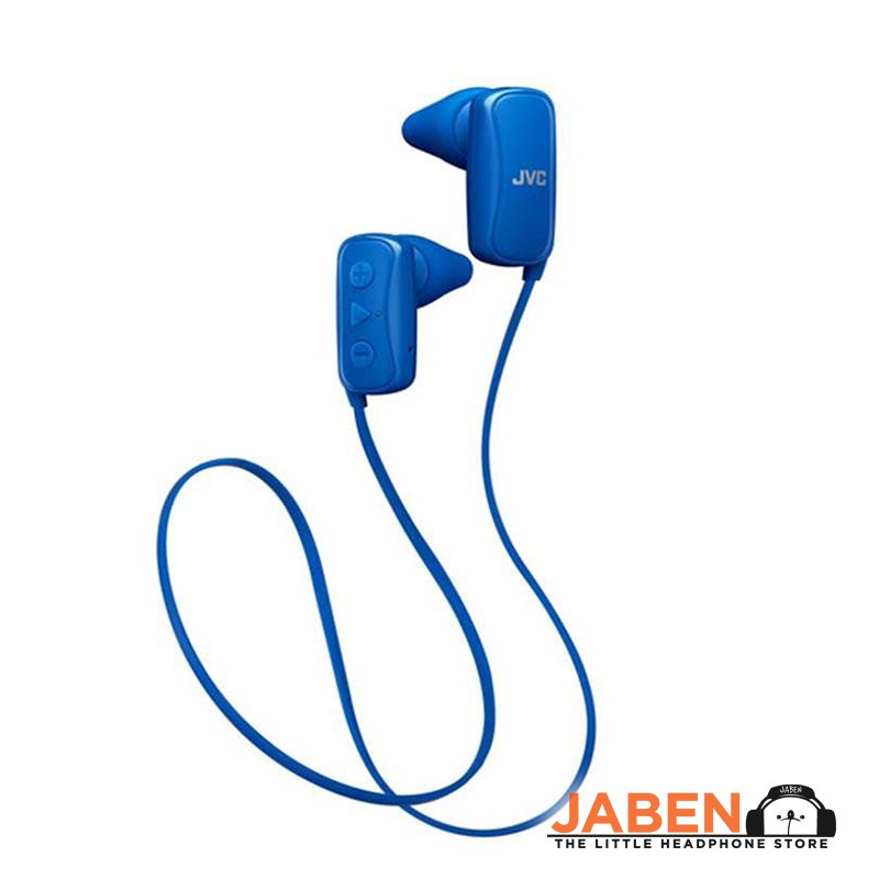 JVC HA-F250BT Environment Awareness Sports Bluetooth Sweatproof Remote Microphone Volume Control In-Ear Earbuds [Jaben]