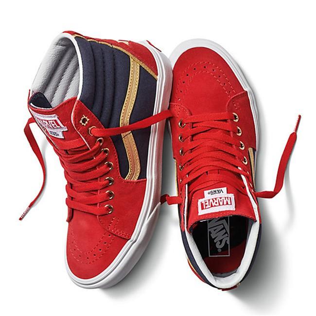 0665028ef3c Vans x Marvel SK8-Hi Captain Marvel Avenger Men Sneakers