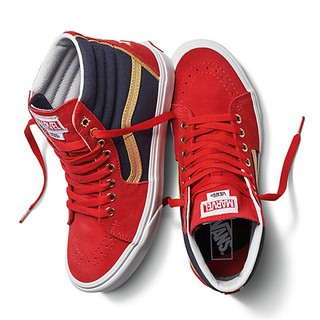 83113bf4fa Vans x Marvel SK8-Hi Captain Marvel Avenger Women Sneakers | Shopee Malaysia