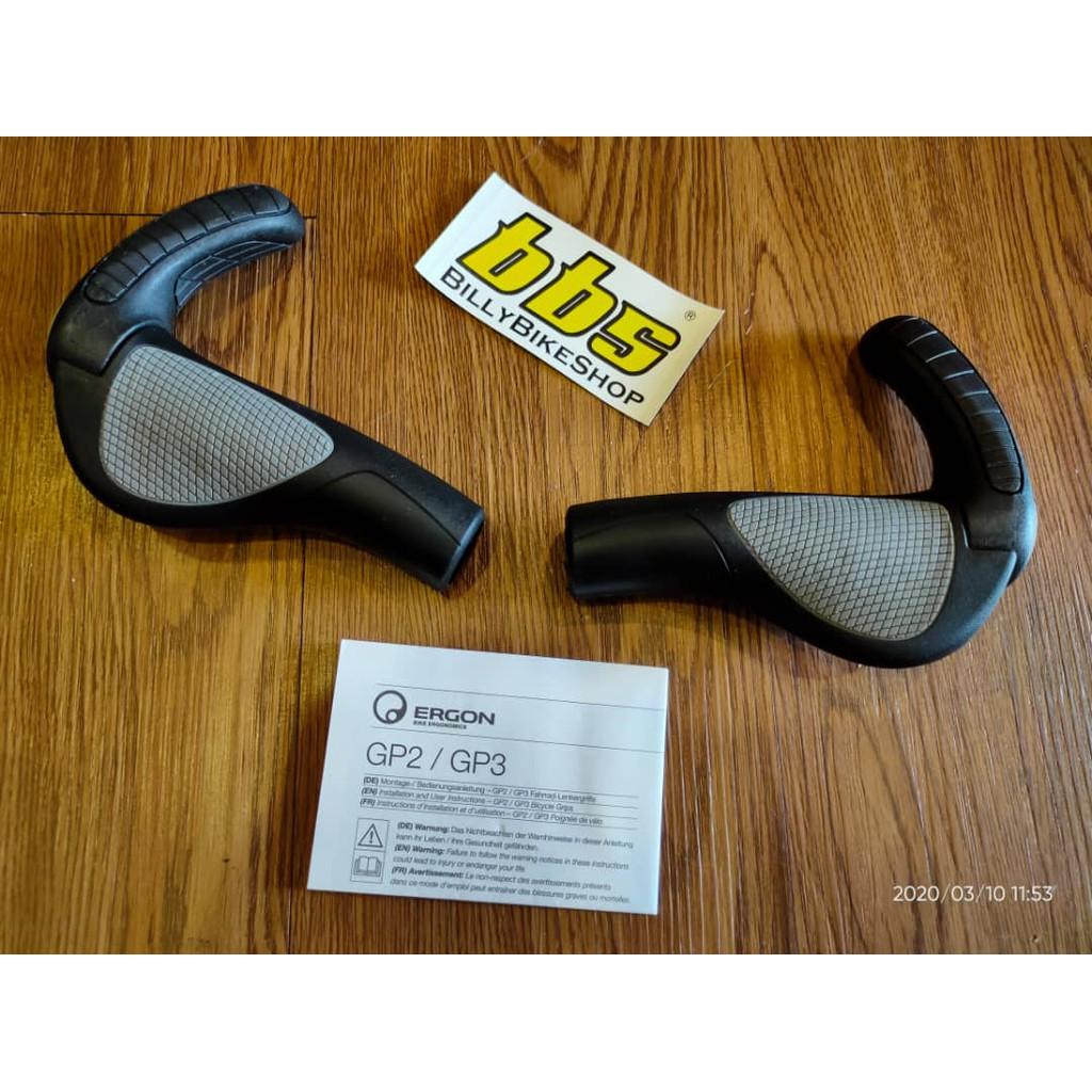 Ergon GP2-L Handlebar Grips Gripshift Version
