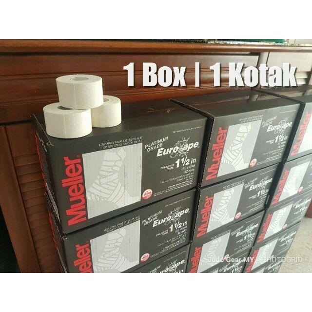[Box] Mueller Platinum Eurotape Rigid Strapping Tape