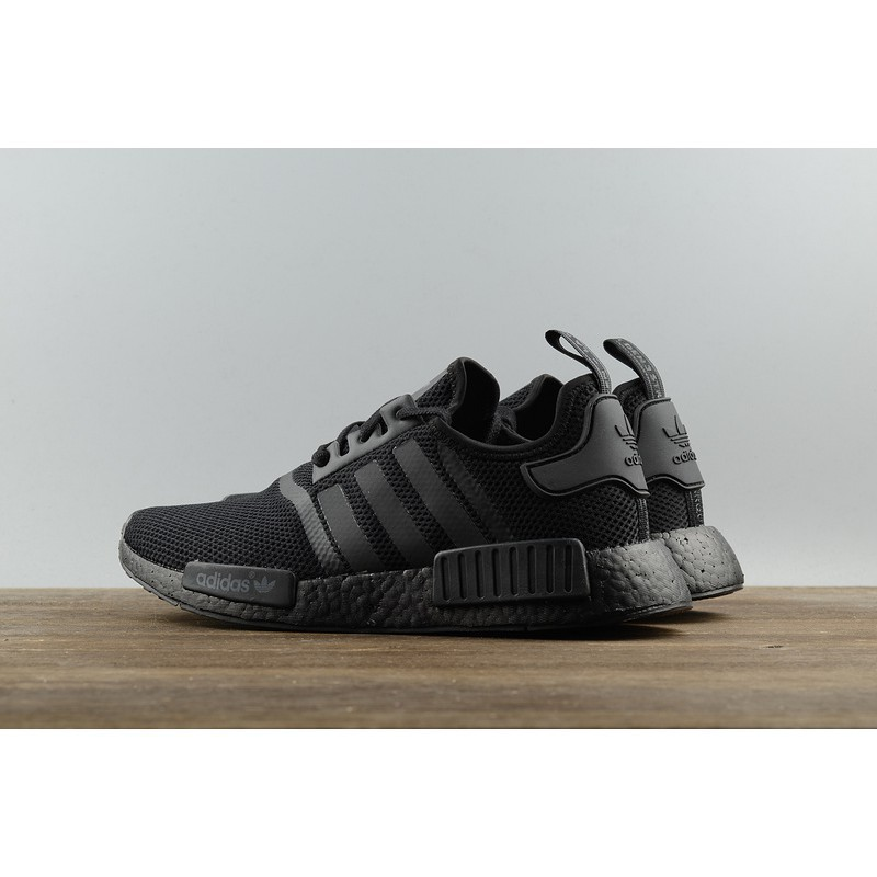 finest selection c422e 0e35b Original Adidas NMD R1 Triple Black S31508 all-black webshoe sneakers  Casual sh