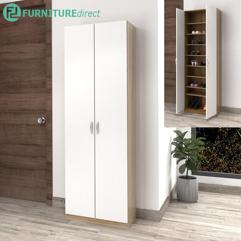 Furniture Direct ESCOT 4 feet / 6 feet shoe cabinet with adjustable shelves/ Rak Kasut/ Shoe Rack/ Shoe Cabinet