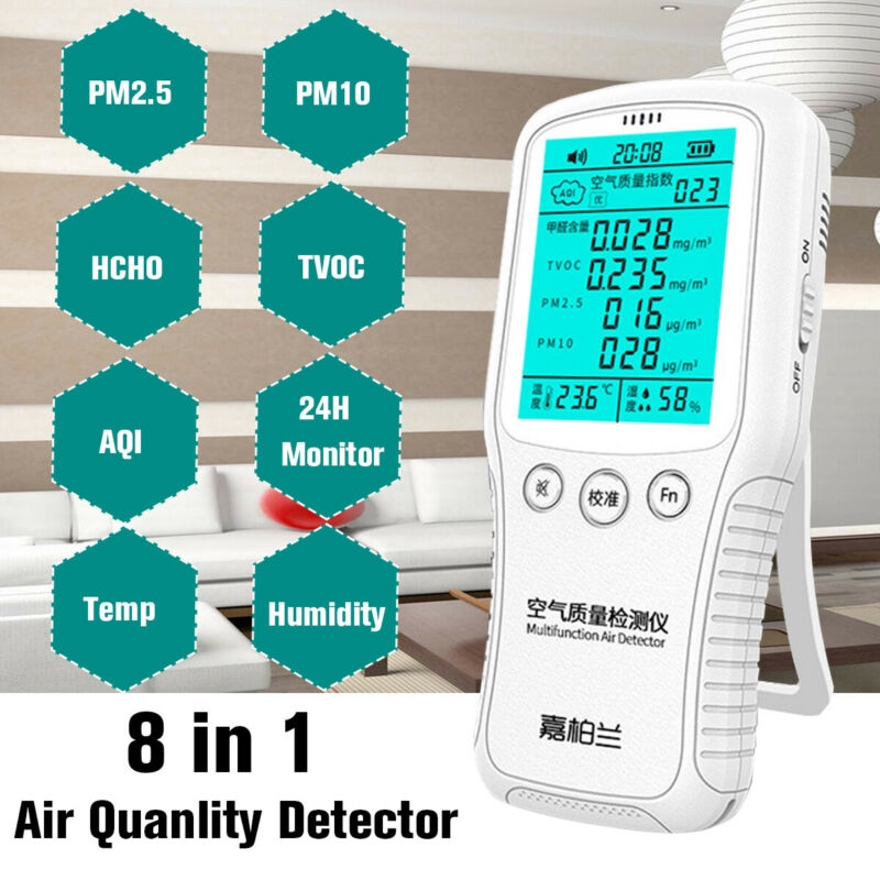 Business & Industrial Air Quality Monitor PM2.5 PM10 Formaldehyde ...