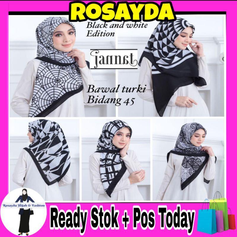 Rosyada Bawal Turker Printed Ready Stok Tudung Borong Murah Tudung Dari Kilang Shopee Malaysia
